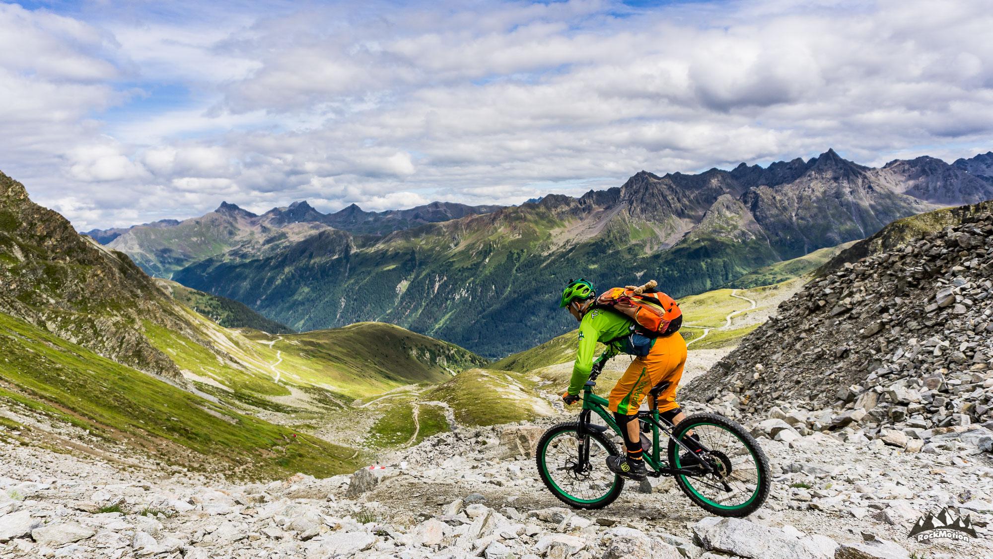Ischgl hat auch schöne Berge